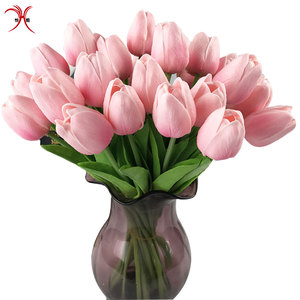 China factory direct PU tulip wholesale artificial flower