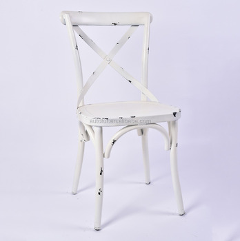 Incredible X Back Cross Back Dining Chair Noosa White French Bistro Style Buy French Bistro Chairs White Bistro Chair Metal Chair Product On Alibaba Com Ibusinesslaw Wood Chair Design Ideas Ibusinesslaworg