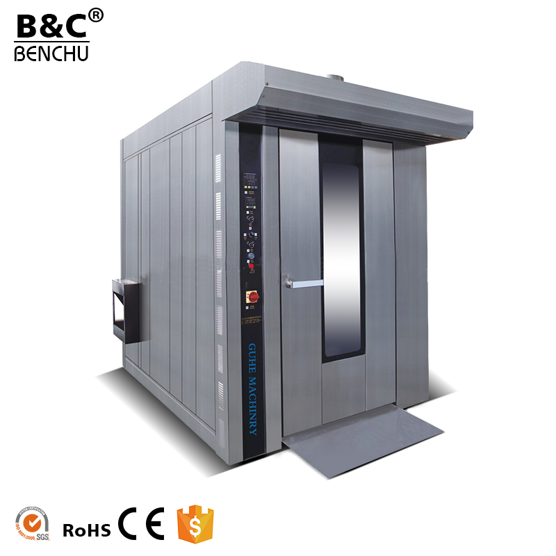 Stainless Steel Bread Baking Oven, Hot Air Rotary Oven for Bakery