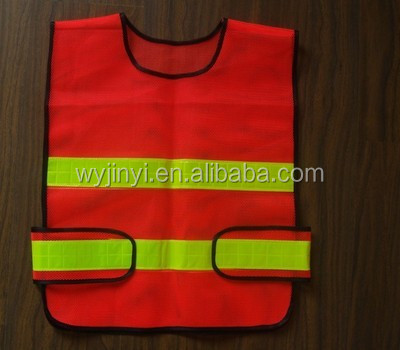 Overall health hi vis safety clothing, reflective vest