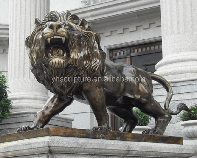 Life Size Standing Lion Statue Garden Statues Sculpture For Product On Alibaba