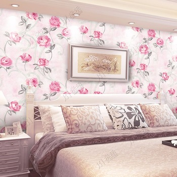 Pink Color Beautiful Cheap Price 3d Design Home Wallpaper For Living Room Buy Home Wallpaper 3d Home Wallpaper 3d Design Wallpaper Product On