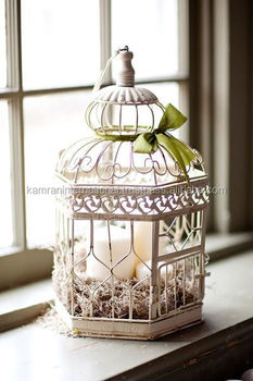 Decorative Metal Bird Cages Garden Decor Fancy Wedding