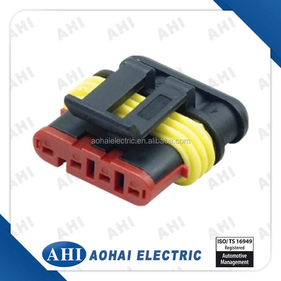 282110 1 Copper Crimp Connector Wire Harness Automotive Female Wiring Dj7041 15 21 Dj7061 Terminal
