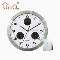 Weather forecast Aluminium Wall Clock