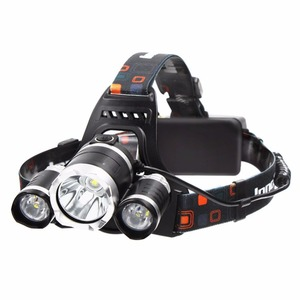 CYSHMILY 4 Modes Head Flashlight Fishing Tail Lights Head Lights Lamps Torch 3 T6 Headlamp