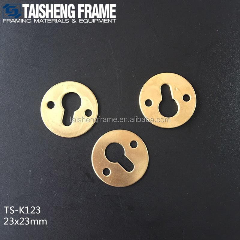 TS-K123 bilderrahmen zubehör platte matel keyhole aufhänger für ...