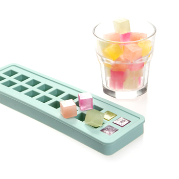 Custom FDA Silicone Ice Cream Cube Tray Mold, Custom Food Grade Silicone round Ice Cube Mold Tray