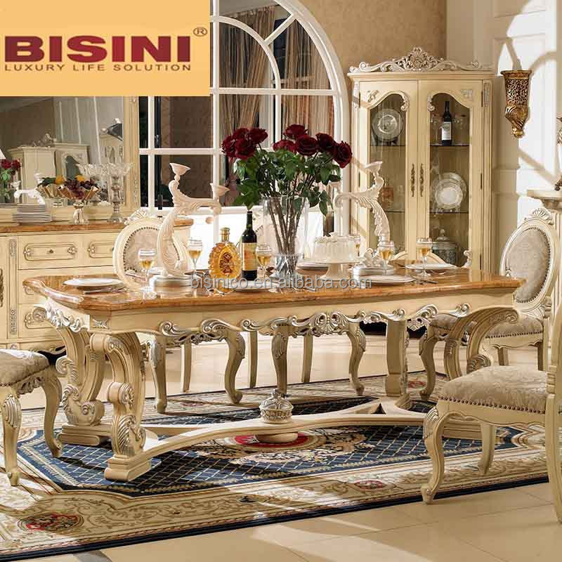 The Best Dining Room Furniture: Bisini Wooden Top Long Dining Table 8 Seats,8 Seater