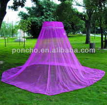 Polyester Hanging adult bed mosquito net