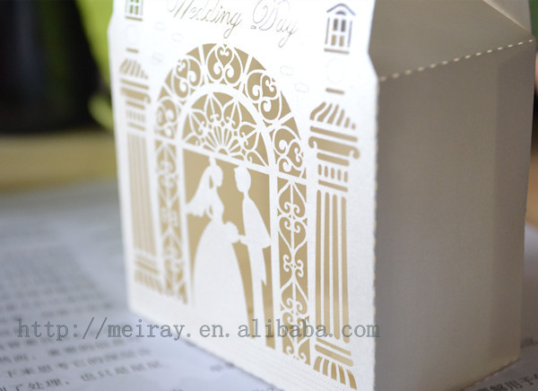 Laser Cut Pop Up Cards3d Wedding Invitation Card Buy 3d Wedding