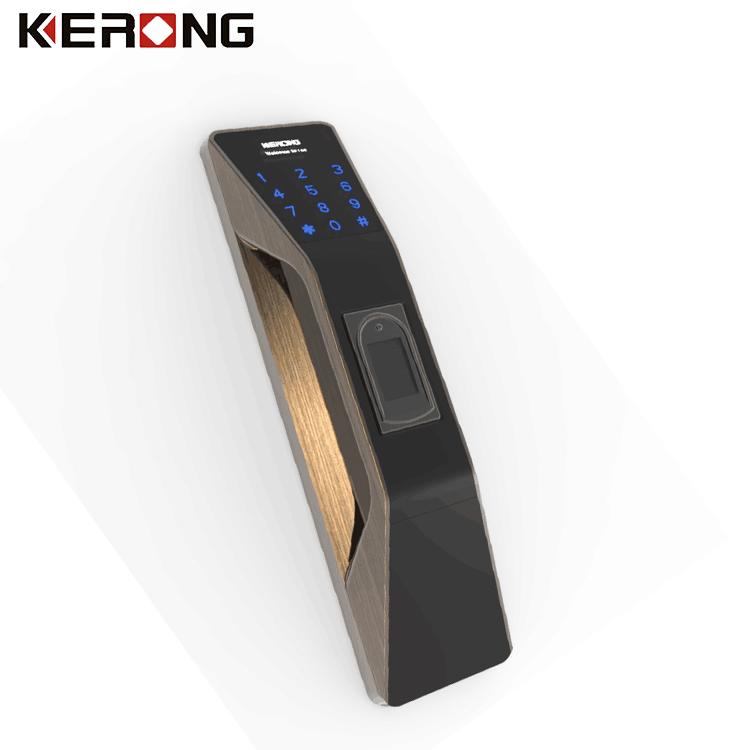 KERONG Elektronik Şifreli Parmak Izi Dolap Kilidi ile Uzaktan Kumanda ile Bluetooth APP