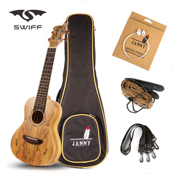 Concert ukulele Set Best small acoustic bass guitar/ ukulele&strings&straps for sale