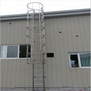 anti-rust and corrosion aluminum & stainless steel pipe cat ladder
