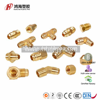 3) Brass fittings C - flare fittings