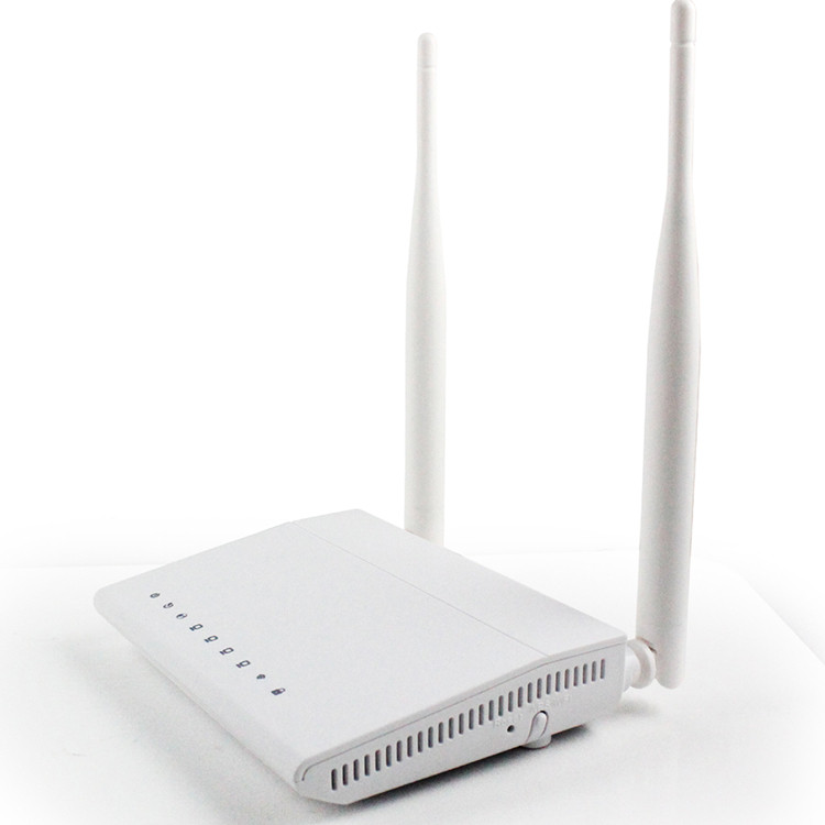300Mbps 192.168.1.1 ADSL Modem WiFi Router with High Gain Antennas