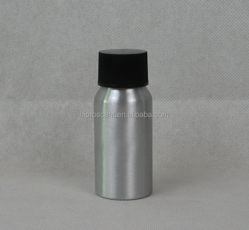 2018 new arrival 30ml aluminum spray <strong>bottles</strong> with black color plastic screw cap