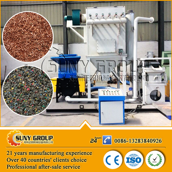 Scrap Copper Wire Cable Recycling Machine - Buy Wire Recycling ...