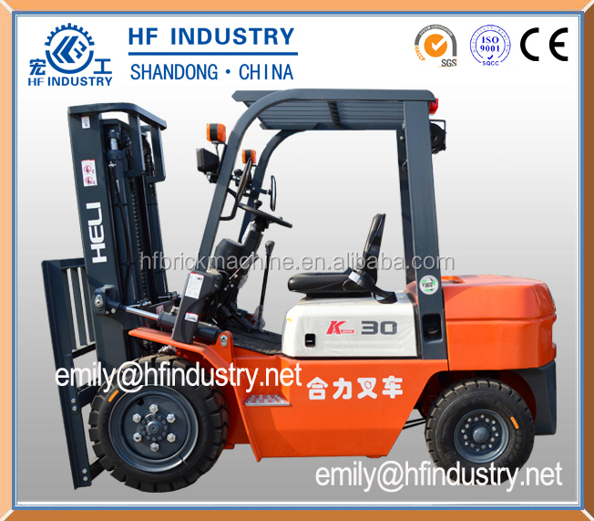 high capacity big fork lift famous brand in China