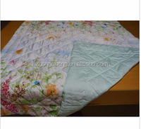 100%Peppermint refreshing quilt,front: printed; back: solid,antibacterial rate of more than 99%