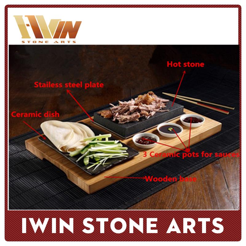 Professional Steak Stone Factory Luxury Hotel Dinner