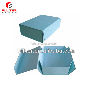 magnetic paper folding box template