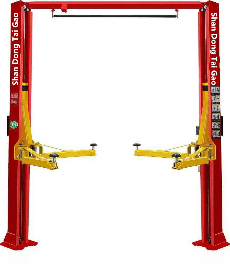 4 ton symmetric arms 2 post car lift/ car elevator