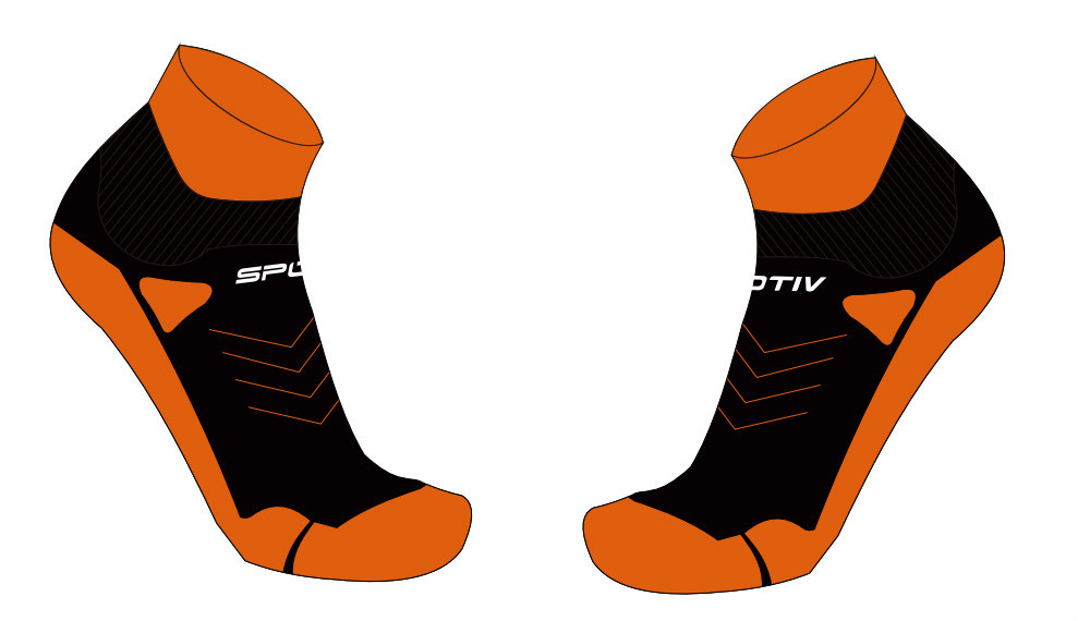custom high quality new design manufacture functional dry fit sport running socks with cheap price