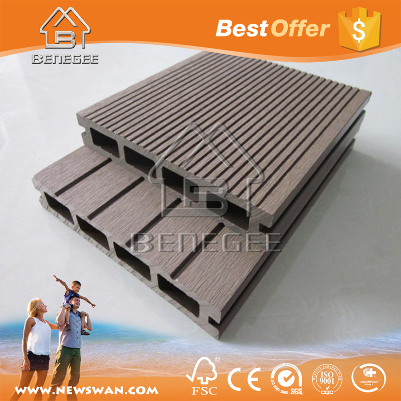 WPC Outdoor Decking/Solid WPC Decking/WPC Laminaatvloer