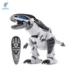 Linxtech Newest Hot RC Toy Intelligent RC Fighting Robot Dinosaur Toy with Multifunction