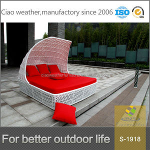 2014 round rattan furniture outdoor bed outdoor swing sun lounger