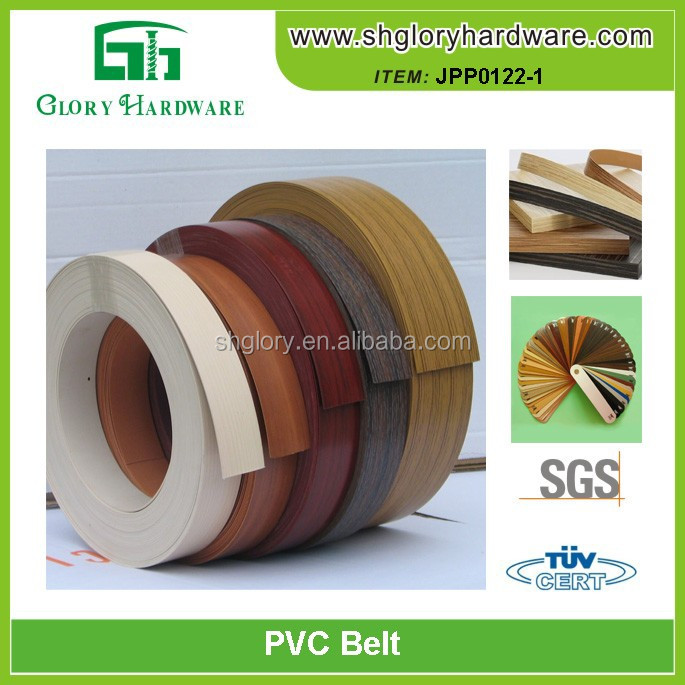 PVC edge banding trimmer, furniture accessory edge banding, colorful PVC edge banding tape