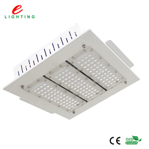 100w 150w 200w 250w gas station ip65 high lumen outdoor led canopy lights