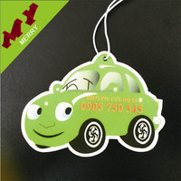Various scents auto paper air freshener / custom car air freshener