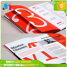 Best prices full colour A4 advertising Single Side Leaflet Tri-fold Brochure