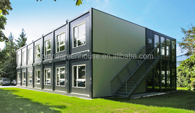 40FT container house floor plans for office