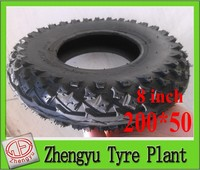 Solid Wheel 200x50 Tire And Rim