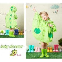 fashionable children kids poncho raincoat