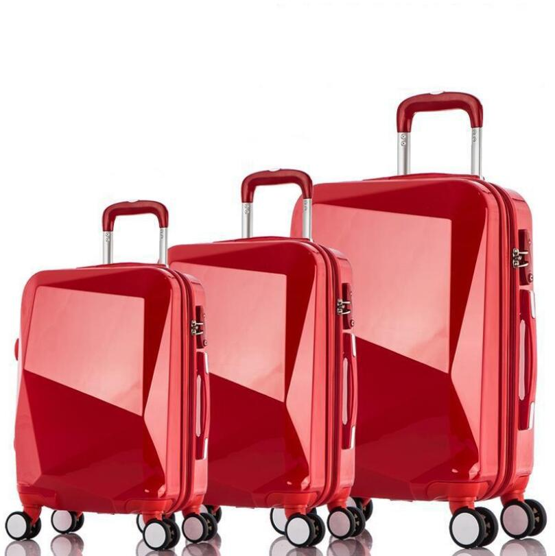 High Quality Hot Selling Diamond Cutting Surface ABS +PC Eminent Luggage Price