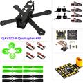 PK rc plane Carbon fiber DIY mini drone 220 220mm quadcopter frame for QAV R 220