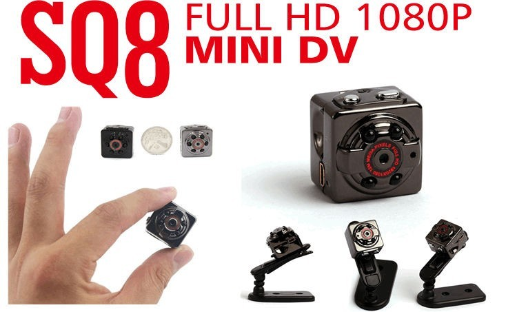 SQ8 HD 1080P 720P Mini dv Kamera Stimme Video Recorder Infrarot Video Camcorder sq8 mini dv kamera