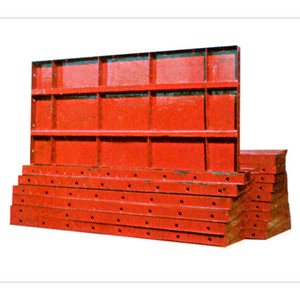 MF-102 Concrete Steel Metal Formwork Molds Board For Building