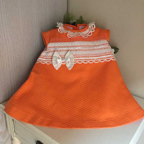 Best Quality Spanish Baby Dress For 3-5 Year Old Little Girl Dress