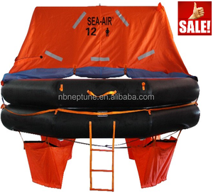 Inflatable Life Raft with EC Certificate 12 person