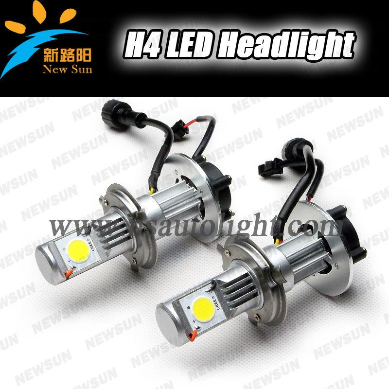 High Power Car H4 Led Headlight Bulbs 50w C Ree Cxa 1512 Led ...