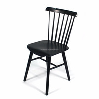 new arrival beech wood side cafe salt chair Windsor dining Chair