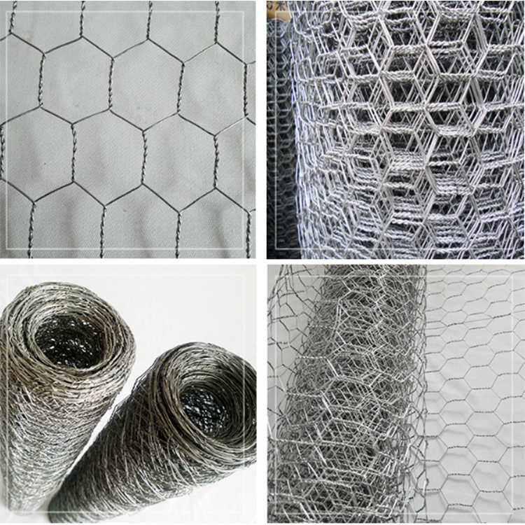 Anping Real Factory Cheap Hexagonal Hole PVC Chicken Coop Galvanized Wire Mesh