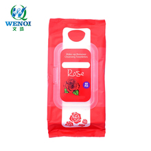 Rose Geur <span class=keywords><strong>Make-Up</strong></span> <span class=keywords><strong>Remover</strong></span> Cleansing Doeken Met Aloë En Vitamine E
