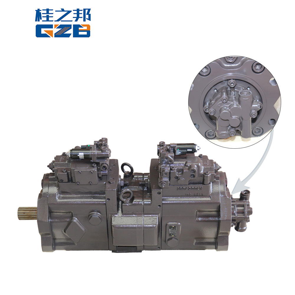electric parts piston pump excavator main pump hydraulic pump spare parts