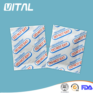 Food grade oxygen absorber/scavenge/desiccant preservation supplier for dried food/meat/fruit/vegetables packaging storage